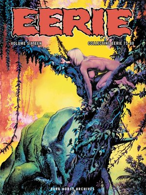 cover image of Eerie Archives Volume 16