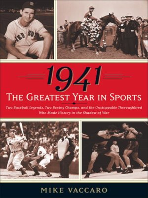 cover image of 1941--The Greatest Year In Sports