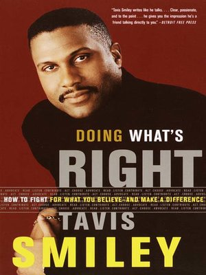 cover image of Doing What's Right