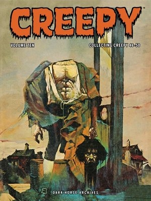 cover image of Creepy Archives, Volume 10