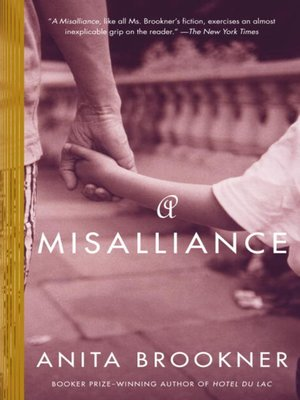 cover image of A Misalliance