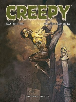 cover image of Creepy Archives, Volume 25