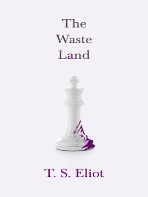 themes of ceremonies in t s eliots poem the waste land T s eliot 1922 the waste land verse ts eliot the waste land: in the first part of part v three themes are employed.