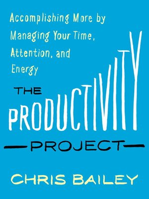 cover image of The Productivity Project