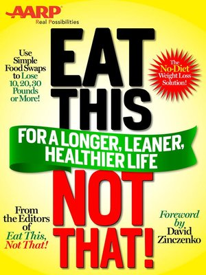 cover image of Eat This, Not That! for a Longer, Leaner, Healthier Life!