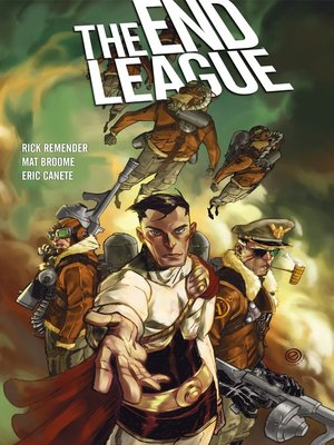 cover image of The End League