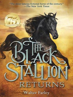cover image of The Black Stallion Returns