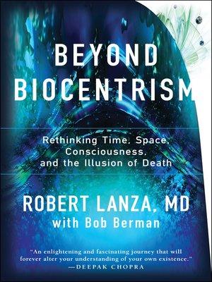 cover image of Beyond Biocentrism