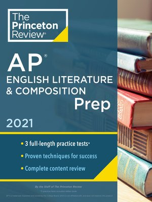 cover image of Princeton Review AP English Literature & Composition Prep, 2021