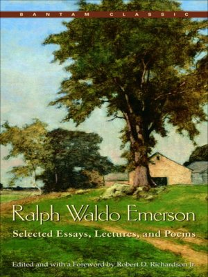 emerson essays and lectures library of america Read ralph waldo emerson: essays: first and second series a library of america paperback classic by ralph waldo emerson with rakuten kobo emerson's prose is.