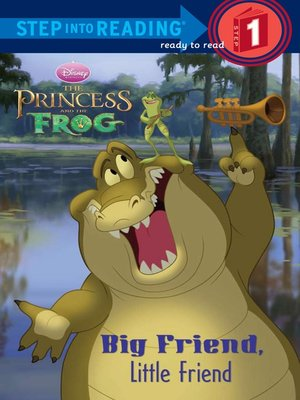 cover image of Big Friend, Little Friend (Disney Princess)