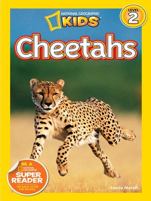 cover image of National Geographic Readers: Cheetahs