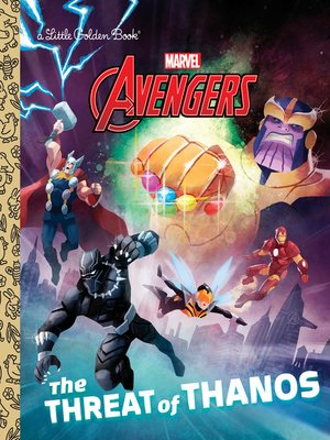 cover image of The Threat of Thanos (Marvel Avengers)