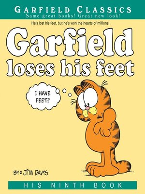 cover image of Garfield Loses His Feet