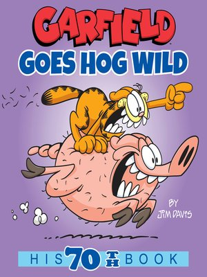 cover image of Garfield Goes Hog Wild
