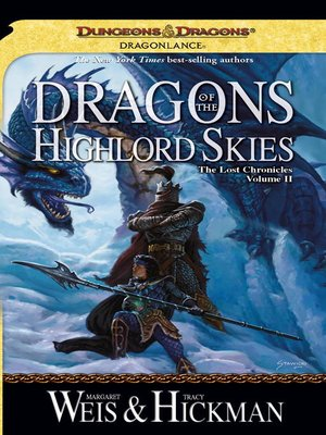 cover image of Dragons of the Highlord Skies