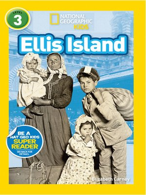 cover image of National Geographic Readers: Ellis Island