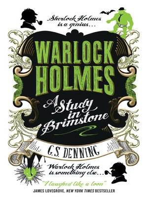 cover image of Warlock Holmes--A Study in Brimstone