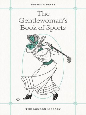 cover image of The Gentlewoman's Book of Sports