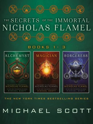 cover image of The Secrets of the Immortal Nicholas Flamel, Books 1-3