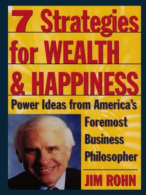 cover image of 7 Strategies for Wealth & Happiness