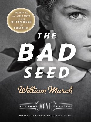 cover image of The Bad Seed