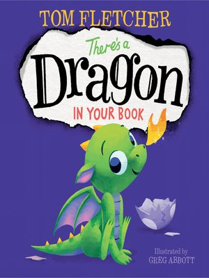 cover image of There's a Dragon in Your Book