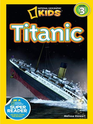 cover image of National Geographic Readers: Titanic