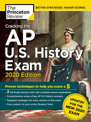 cover image of Cracking the AP U.S. History Exam, 2020 Edition