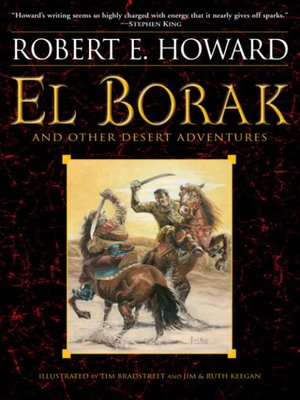 cover image of El Borak and Other Desert Adventures