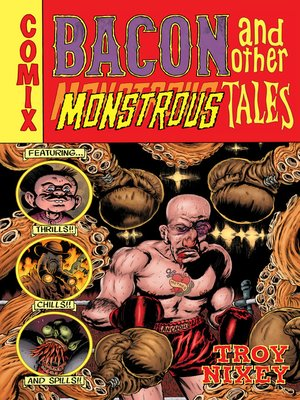 cover image of Bacon and Other Monstrous Tales
