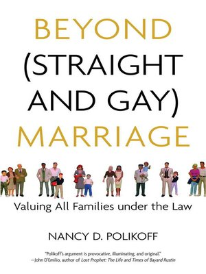 cover image of Beyond (Straight and Gay) Marriage