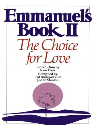cover image of Emmanuel's Book II