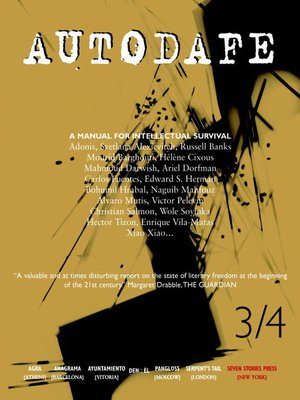 cover image of Autodafe 3/4