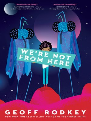 cover image of We're Not from Here