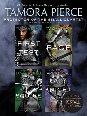 cover image of Protector of the Small Quartet: First Test; Page; Squire; Lady Knight