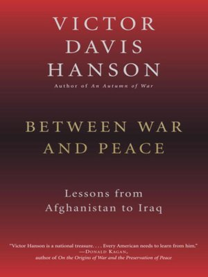cover image of Between War and Peace