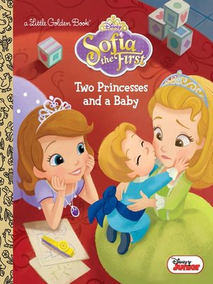 cover image of Two Princesses and a Baby (Disney Junior