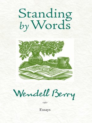 cover image of Standing by Words
