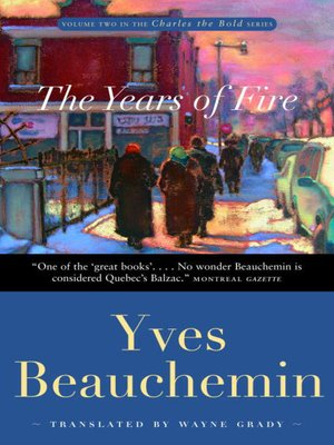 cover image of The Years of Fire