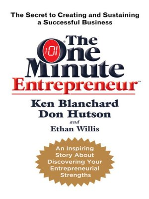 cover image of The One Minute Entrepreneur