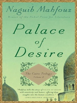 cover image of Palace of Desire