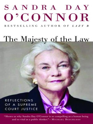 cover image of The Majesty of the Law