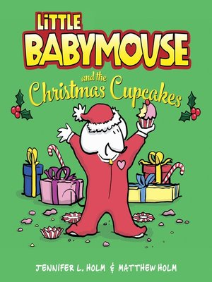 cover image of Little Babymouse and the Christmas Cupcakes