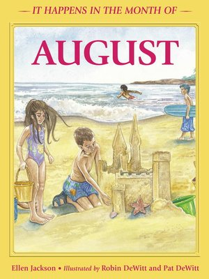 cover image of It Happens in the Month of August