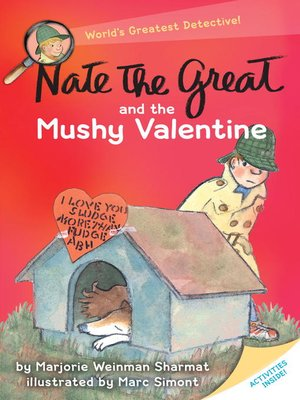 cover image of Nate the Great and the Mushy Valentine