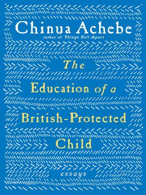 cover image of The Education of a British-Protected Child
