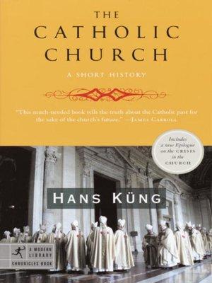 cover image of The Catholic Church