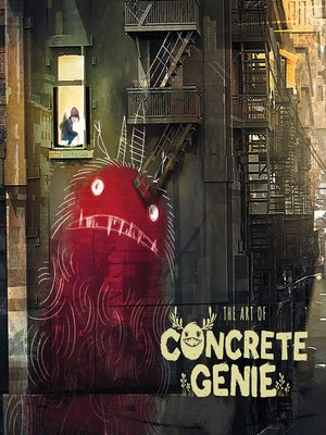 cover image of The Art of Concrete Genie