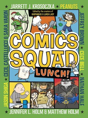 cover image of Comics Squad #2: Lunch!